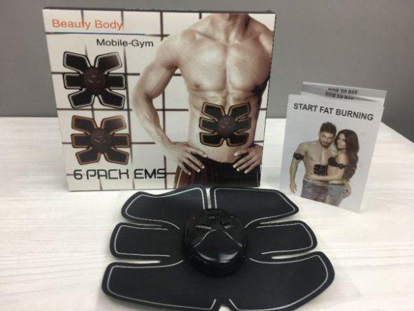 Пояс Ems-trainer стимулятор мышц пресса миостимулятор для похудения, убрать живот, похудеть