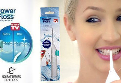 Ирригатор для полости рта Power Floss. Персональный очиститель зубов
