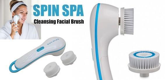 Щетка для чистки лица Spin Spa Cleansing Facial Brush! Средство для чистки лица