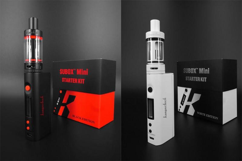 Электронная сигарета Kangertech SUBOX mini Starter Kit 50W / Вейп Vape ЧЕРНАЯ