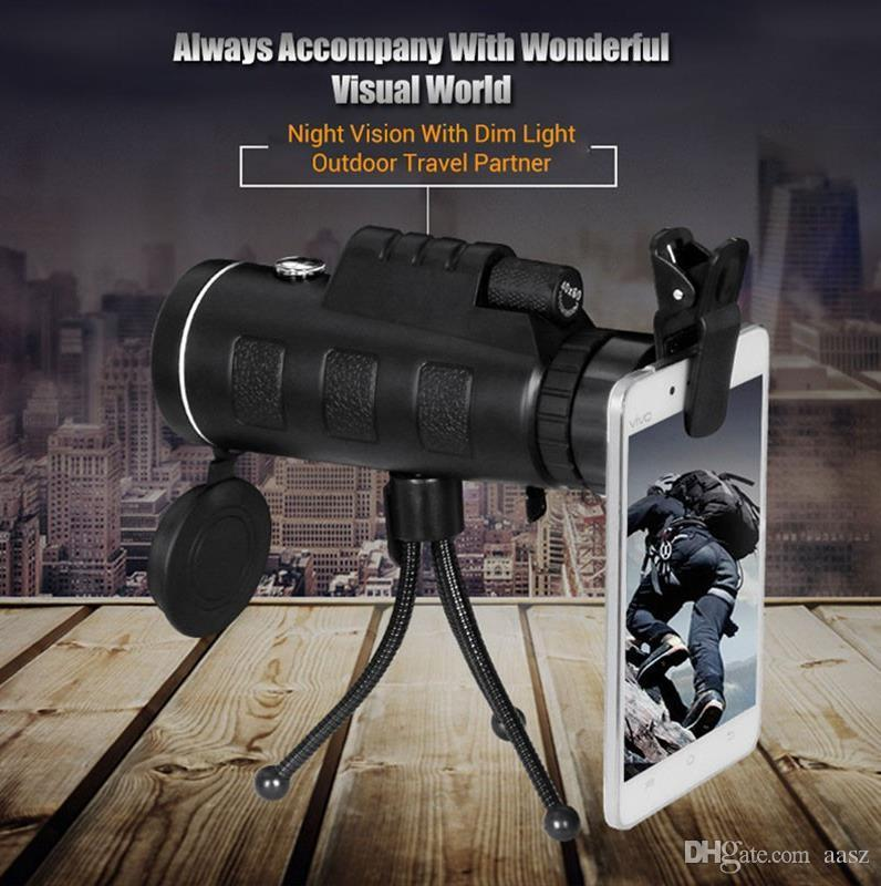 Монокуляр с треногой и клипсой Panda Vision 40x60