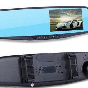 Видеорегистратор-зеркало DVR 138E с одной камерой и экраном