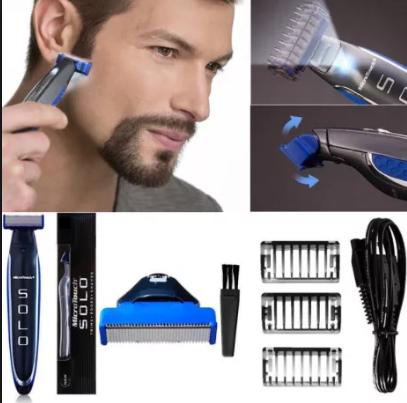 Триммер - бритва для мужчин Micro Touch Solo, мужская машинка для стрижки волос