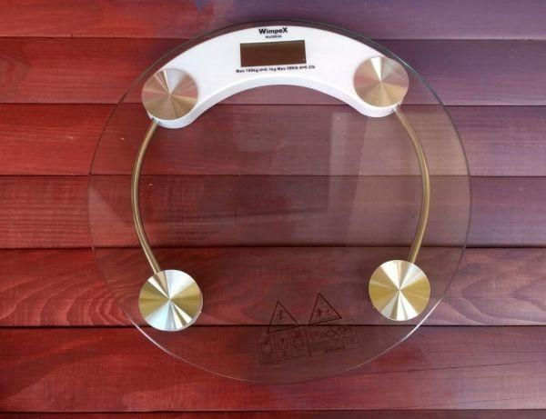 Весы Напольные Круглые Стеклянные До 150 кг ACS 2003A