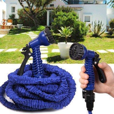 Шланг для полива X HOSE 60 м с распылителем, садовый шланг, поливочный шланг для сада