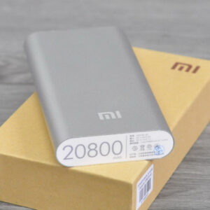 Повер банк Xiaomi 20800 mAh Power Bank Внешний Аккумулятор СЕРЕБРО