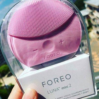 Электронная щетка для чистки лица Foreo Luna mini 2- массажёр Форео ПУДРА