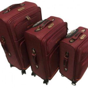 Тканевые Чемоданы Комплект 3-ка на 4 колеса My travel