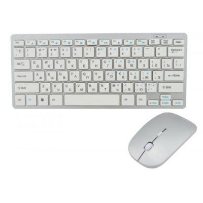 Беспроводная клавиатура с мышью W03 White