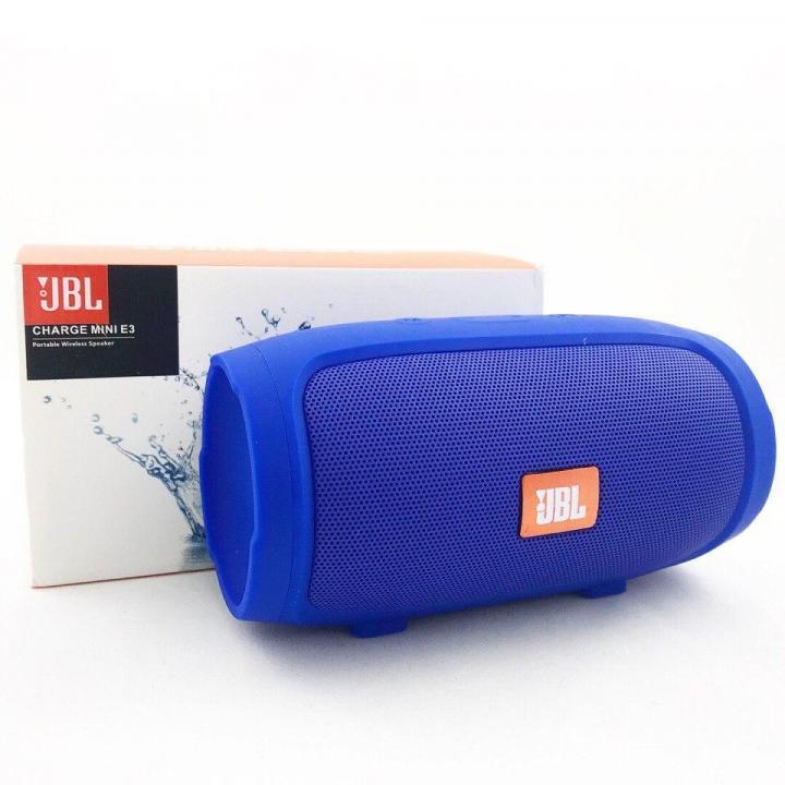 Портативная блютуз колонка JBL Charge 3 MINI колонка с USB,SD,FM СИНЯЯ