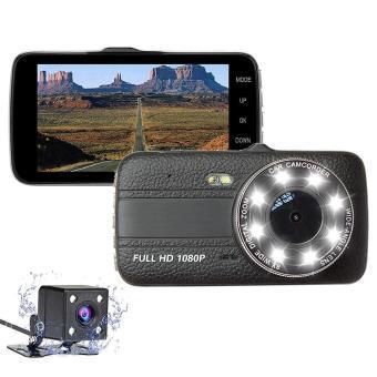 Автомобильный видеорегистратор +камера заднего хода T657 1080 FULL HD с ночной сьёмкой