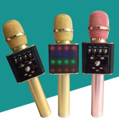 Bluetooth микрофон для караоке L17 Блютуз микро + ЧЕХОЛ