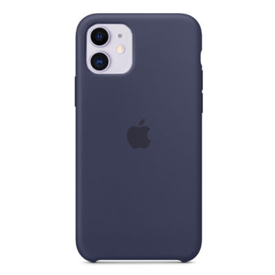 Силиконовый Чехол Накладка Original Silicone Case High Copy — iPhone 11 Midnight Blue (8)