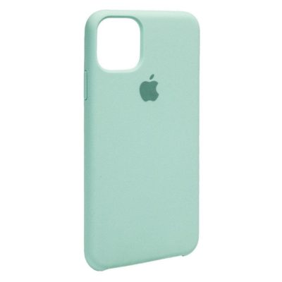 Силиконовый Чехол Накладка Original Silicone Case High Copy — iPhone 11 Pro Max — Sea Blue (21)