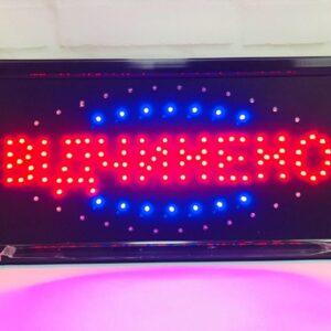 """Светодиодная вывеска""""Відчинено"""" 48 х 25 см., вывеска светодиодная led, светодиодная табличка. Лучшая Цена!"""
