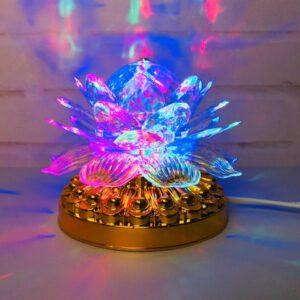 Яркая, Вращающаяся диско лампа Led full color rotating lamp светодиодная G 0073. Лучшая Цена!