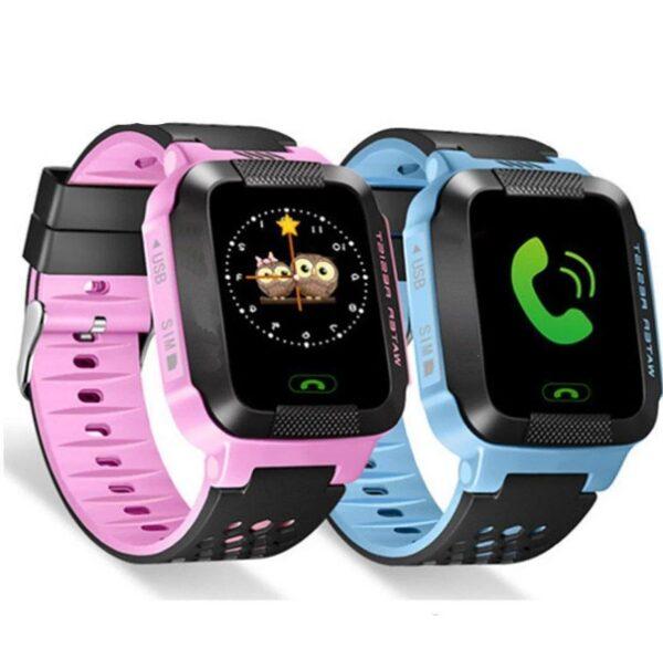 Smart Watch A15 Детские смарт часы GSM, Sim, SOS, GPS tracker Лучшая цена!