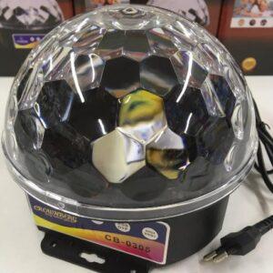 Мощный Диско-шар Magic Ball+USB MP-3 CB-0305 ЛУЧШАЯ ЦЕНА!