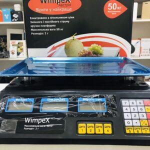Торговые Весы электронные 50 кг 4V Wimpex  sa90331 Черный Лучшая цена!