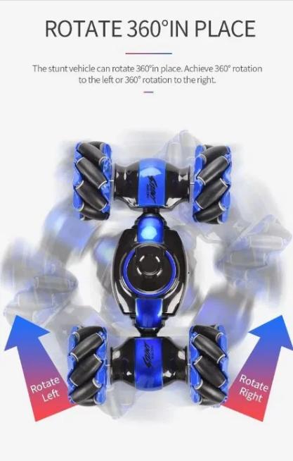 Машинка трансформер перевёртыш Stunt LH-C019S (управление жестами и пультом) ЛУЧШАЯ ЦЕНА!