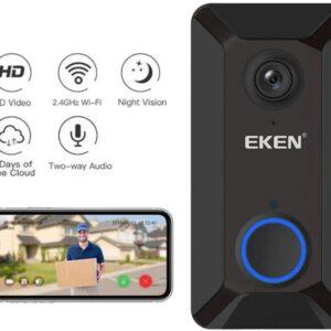 Беспроводной видео звонок-глазок Eken V6  Лучшая цена!
