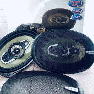 Автоакустика SP-6995 (69, 5-ти полос., 1200W) автомобильная акустика динамики автомобильные колонки АКЦИЯ