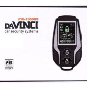 Автосигнализация двухсторонняя daVINCI PHI-1380 RS с обратной связью и автозапуском двигателя