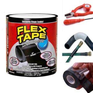 Водонепроницаемая изоляционная лента Flex Tape Черная  Лучшая цена!