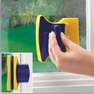 Магнитная щетка для мытья окон с двух сторон Glass Wiper Window Wizard, щетка для окон, мытье окон АКЦИЯ