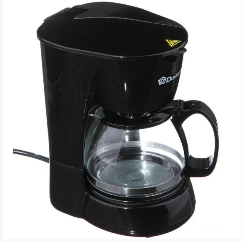 Качественная, профессиональная капельная Кофеварка DOMOTEC MS-0707 кофе машина. Лучшая Цена!