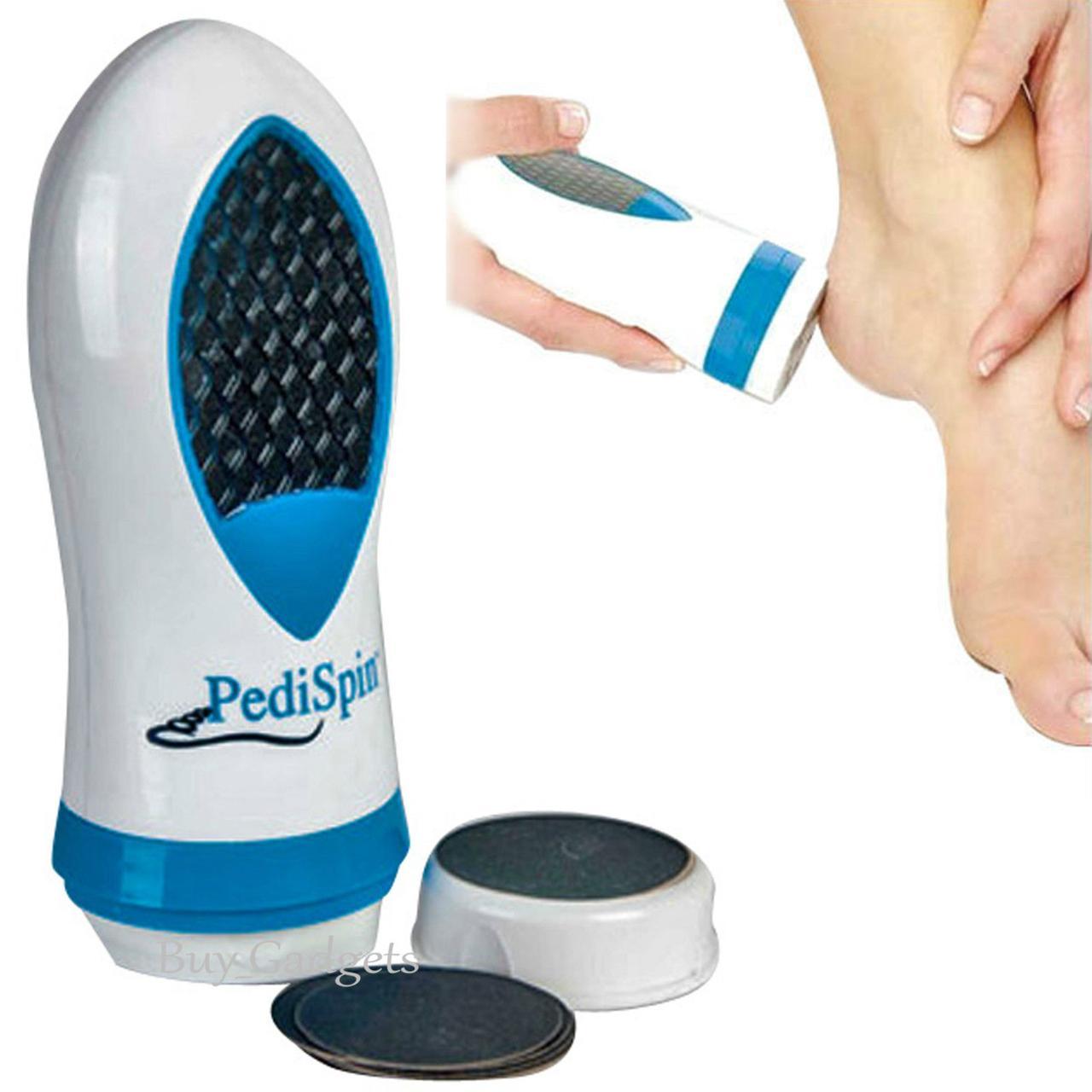 Электрическая пемза для педикюра Pedi Spin, Педикюрный набор Педи