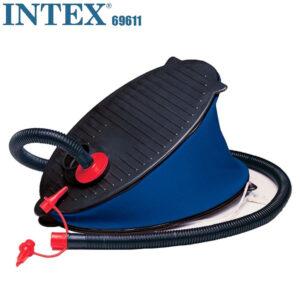Ножной насос для надувания Intex 69611, 28 см, 3 насадки