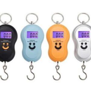 Кантерные цифровые весы с батарейками в комплекте смайлик от 0,01гр до 50кг