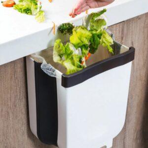Складной мусорный контейнер на двери Kitchen Wet garbage FLEXIBLE BIN, раскладной
