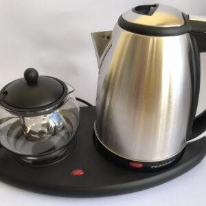 Чайник электрический с чайничком для заварки чая TEAFAELL TF-200 1850W