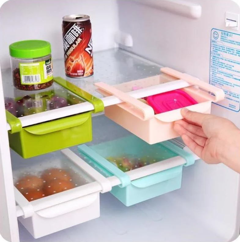 Органайзер для холодильника - полочка для хранения продуктов Refrigerator Shelf