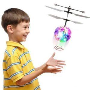 """Светящийся летающий шар LED Flying Ball PC398, Индукционная игрушка """"Летающий шар"""""""