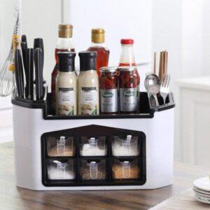 Многофункциональный кухонный органайзер Supretto для приборов и специй