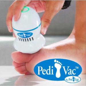 Пемза для ног | Прибор для удаления мозолей | Электрическая пемза для ног Pedi Vac