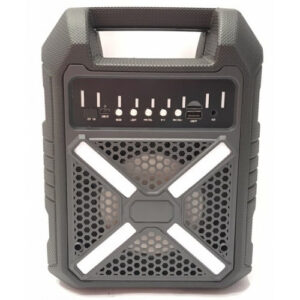 Колонка мини-чемодан B709 с выходом на микрофон