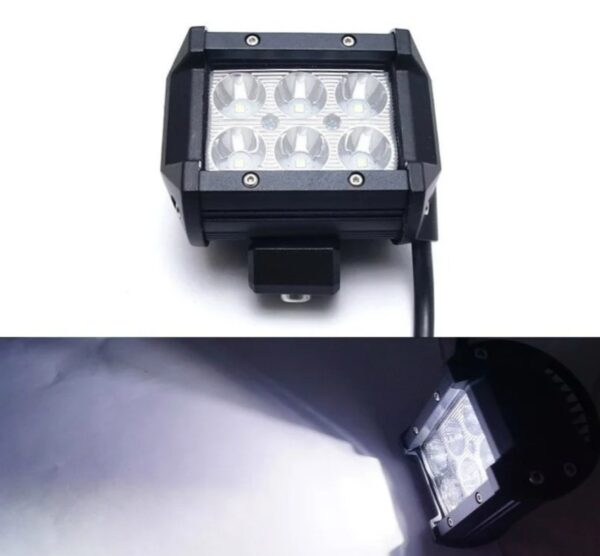 Фара LED (6 LED) 5D-18W-SPOT Светодиодная дополнительная автомобильная автофара на крышу противотуманка