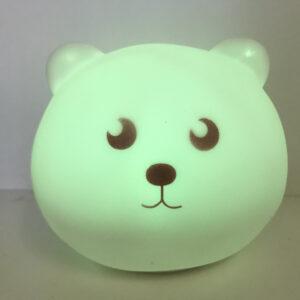 Детский мягкий силиконовый ночник Lovely Night Light на аккумуляторе