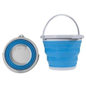 Складное силиконовое ведро на 5л Collapsible Bucket, с ручкой