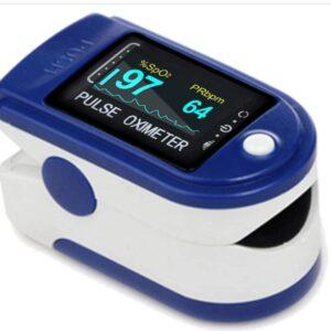Пульсоксиметр AD-805 на палец, Измеритель пульса,  Пульсометр компактный, Пульсоксиметр беспроводной