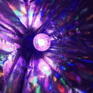 Мощная диско лампа 6 LED Color Rotating Lamp, вращающаяся диско лампа, диско шар для вечеринок RD-5006