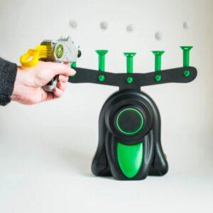 """Воздушный тир, Детская игра пистолет с дротиками и летающие мишени Hover Shot, """"Стрелялки"""" с бластером"""