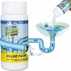 Чистящее средство для труб и раковин - мощный очиститель мойки и слива Wild Tornado Sink Drain Cleaner