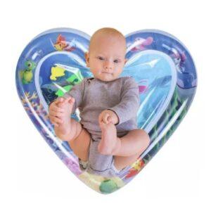 """Водный коврик для детей """"Сердце"""", развивающий надувной акваковрик и для младенца"""