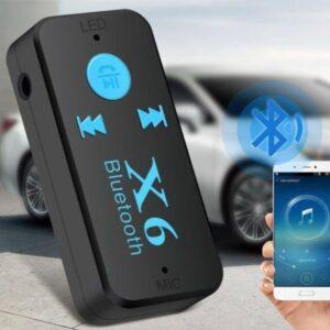 Беспроводной адаптер Bluetooth приемник аудио ресивер BT-X6 TF card
