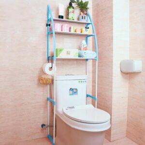 Стеллаж над унитазом этажерка напольная органайзер для туалета WM-64